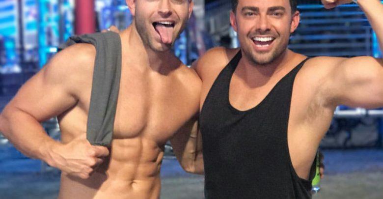 Mean Girls star Jonathan Bennett debuts Pride tank tops